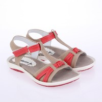 Catenzo Junior Sandal Flatbed Anak CABx051 Cream Comb