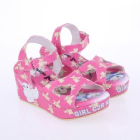 Catenzo Junior Sandal Wedges Anak CABx057 Pink Comb