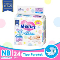 Merries Baby Diapers New Born 24S