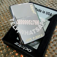Zippo high Polish chrome,gratis grafir nama