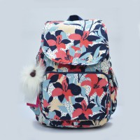 New!! Authentic Kipling Backpack City - Floral
