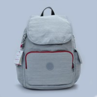 New!! Authentic Kipling Backpack City - Grey