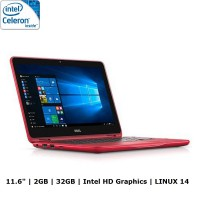 DELL Inspiron 11 3168 Touch Screen (Celeron N3060) - Linux 14