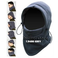 masker polar fleece 6 in 1 balaclava thermal hicking outdoor