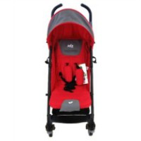 Joie Brisk 2In1 Travel System Poppy Stroller Plus Carseat - Merah -