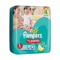 PAMPERS BABY DRY PANTS L-26