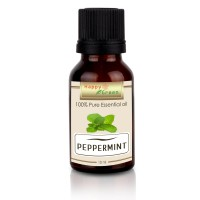 Happy Green Peppermint Essential Oil (10 ml) - Minyak Mint