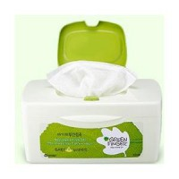 70 sheets of green container finger wipes case [case] x3 +70 plan every refill pack / green finger wipes / wet tissue also capped 60 menu x3