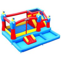 [poledit] Blast Zone Misty Kingdom Inflatable Bouncer - Water Park with Slide by Blast Zon/12186601