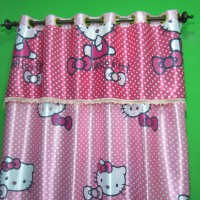 Gorden Blackout Hello Kitty Big Printing (Pinky)