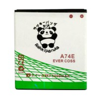 BATTERY BATERAI DOUBLE POWER DOUBLE IC RAKKIPANDA EVERCOSS CROSS A74E WINNER T+ 3000mAh