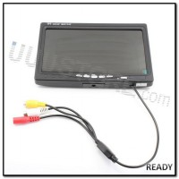 7 inch LCD TFT FPV 800 x 480 Monitor No Blue Screen #Part RC