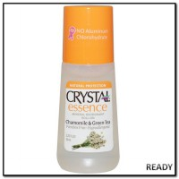 Crystal Body Deodorant Mineral Roll On, Chamomile & Green Tea (66 ml)