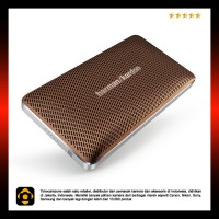 Harman Kardon Esquire Mini Portable Wireless Speaker and Conferencing System - Brown