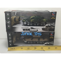 Mainan RC Military War Tank Rechargeable Scale 1:32