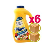 Buy 2 boxes / cells plus / butter aroma liquid margarine butter 3.79 l x6 intervention [@ 28,000;