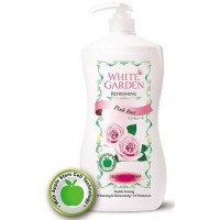 WHITE GARDEN Shower Cream Pink Rose 1100ml