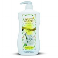WHITE GARDEN Shower Cream Pure Goat's Milk & Pearl 1100 ml