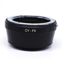 [globalbuy] Lens Mount Adapter For C/Y CY Lens to Fujifilm x-Pro1 x-E1 FX Mount CY-FX/3687332