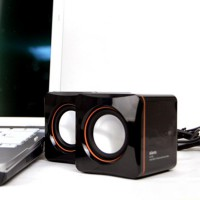 Speaker Mini Portable USB Square K300