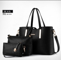 WOMAN FASHION BAGS #ELV87800 3IN1 IMPORT KOREA