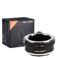[globalbuy] K&F Concept Lens Mount Adapter with Tripod for Contax / Yashica (c/y or cy) Le/3687236