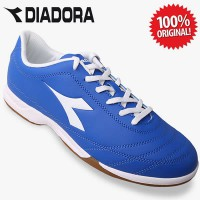 ORIGINAL Diadora 650 III ID Men's Soccer Shoes Blue