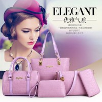 WOMAN FASHION BAGS #ELV83990 5IN1 WITH LONG STRAP IMPORT KOREA