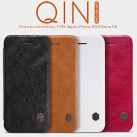 Nillkin Qin Leather Case Flip Cover iPhone 5 / 5S / SE - Original