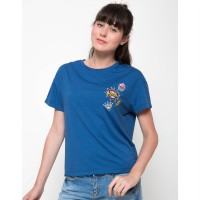 Third Day Co LT179-Boom Patch Blue Tees