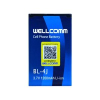 Wellcomm Battery Double IC BL-4J