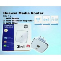 Huawei Media Router WS322 3in1 Wifi Repeater/Extender Router Client
