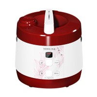 Yong Ma YMC 108 Teflon Gold Iron Wing Rice Cooker - Merah