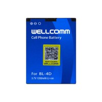 Wellcomm Battery Double IC BL-4D