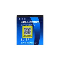 Wellcomm Battery Double IC BL-6F