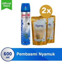 Special Package 1 Force Magic Blue FREE 2 Kispray Glamorous Gold
