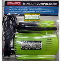 Mini Air Compressor / Pompa Angin KENMASTER 300 PSI