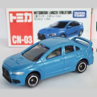 Die Cast Tomica Mitsubishi Lancer Evolution Scale 1:64