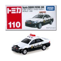 Die Cast Tomica 110 Toyota Crown Patrol Car Scale 1:69