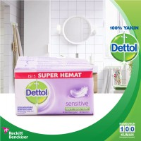 Dettol Barsoap SuperHemat Sensitive 5 x 105gr