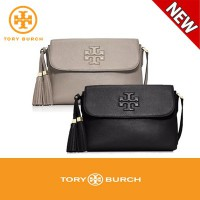 Tory Burch Thea Messenger Bag(Black/French Grey)