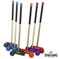 [poledit] Spalding Lawn Games Spalding 6-Player Professional Series Croquet Set (T2)/12180184