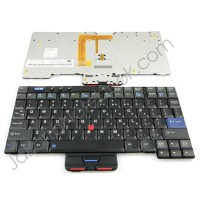 Keyboard IBM ThinkPad X40 X41 - Hitam
