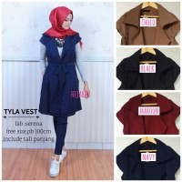 Tyla Vest | Material: Serena - Available 4 colors