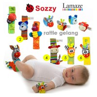Prime Gelang Rattle Animal Mainan Anak - Random 1 Pcs