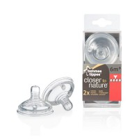 Tommee Tippee Closer to Nature Dot Thick Feed 6m+