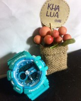 JAM TANGAN SPORTY ANALOG DIGITAL BLUE GBA 400