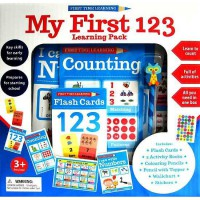 [HelloPandaBooks] First Time Learning My First 123 Learning Pack