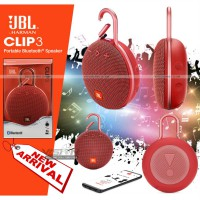 Speaker Bluetooth JBL Clip 3+ Portable Wireless Waterproof | OEM
