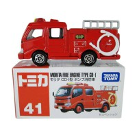 Die Cast Tomica 41 Morita Fire Engine CD-I